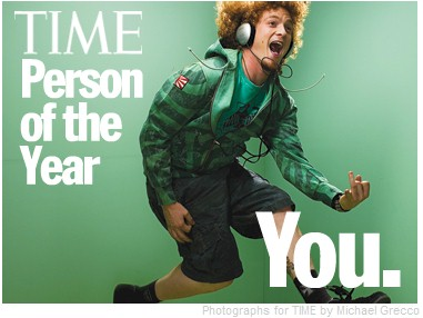 Time Mag Cover Person of Year 2006
